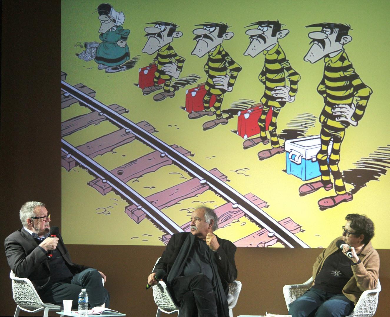 Gilbert Thiel, Daniel Zagury et Carole Desbarats