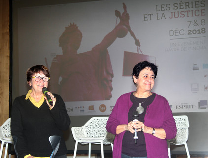 Ginet Dislaire et Carole Desbarats