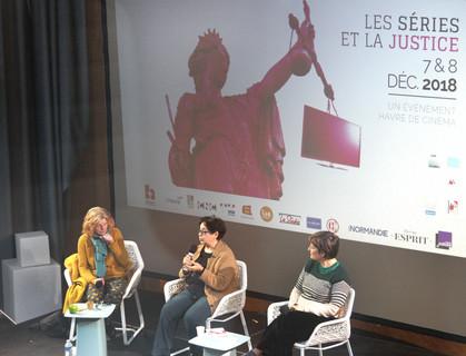 Claire Simon, Carole Desbarats et Rebecca Houzel