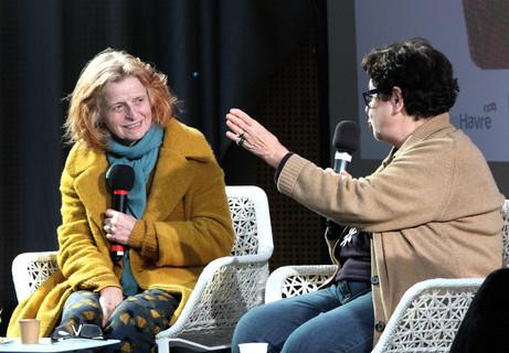 Claire Simon et Carole Desbarats