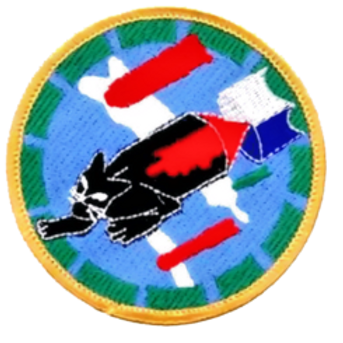 748th Bomb Squadron Leather patch