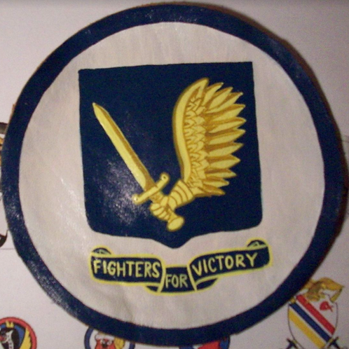 357th Fighter Group Blue Leather Patch