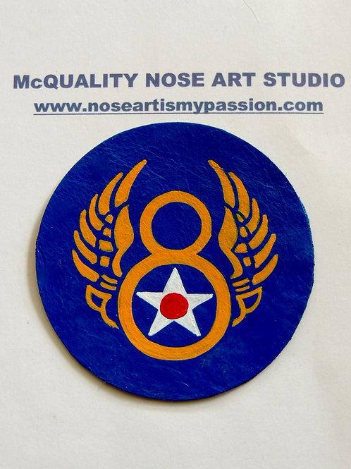 8th Air Force Leather Patch