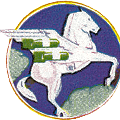 410th Bomb Squadron Leather Patch
