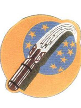 710th Bomb Squadron Leather Patch
