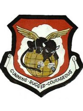 94th Bomb Group Leather Patch