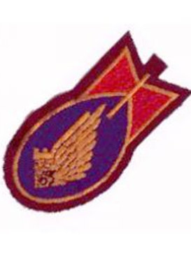 64th Bomb Squadron Leather Patch