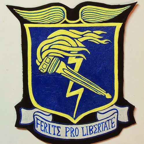 93rd Bomb Group Leather Patch