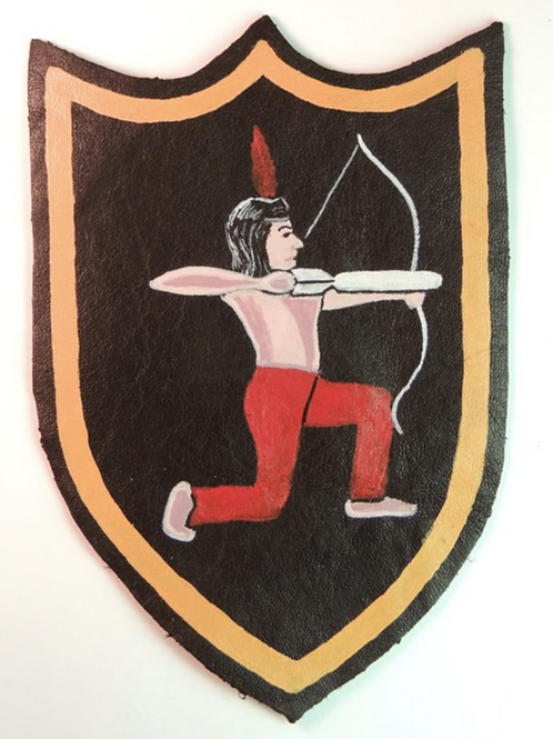 545th Bomb Squadron Leather Patch