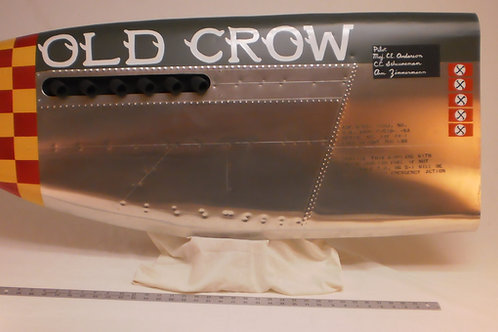 Old Crow P-51 40'' Nose Art Panel - DEPOSIT