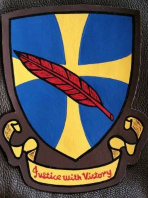 95th Bomb Group Leather Patch