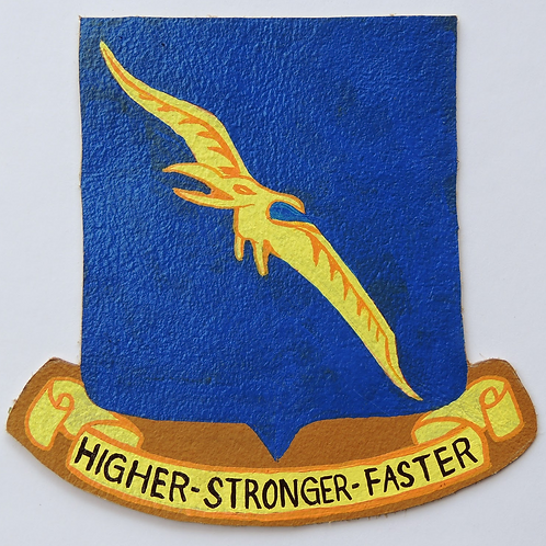 92nd Bomb Group Leather Patch