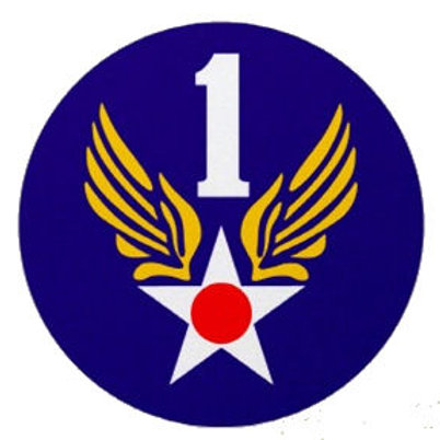 1st Air Force Leather Patch