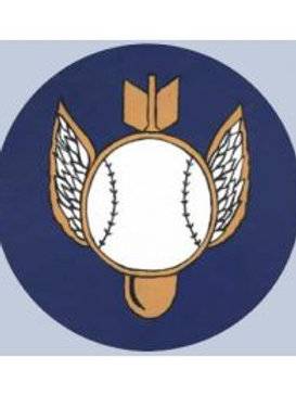 511th Bomb Squadron Leather Patch