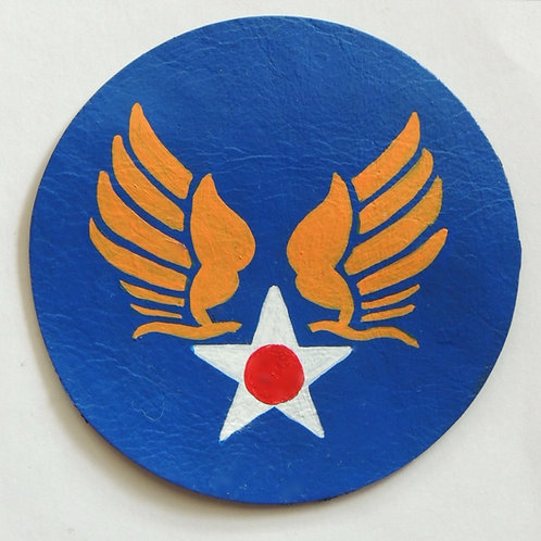 USAAC USAAF Hap Arnold Leather Patch