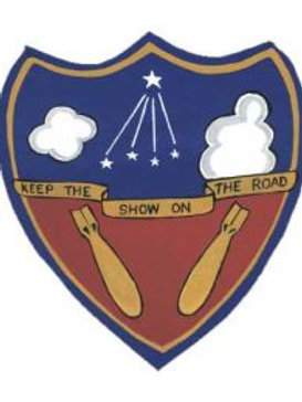 384th Bomb Group Leather Patch