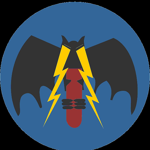 335th Bomb Squadron Leather Patch