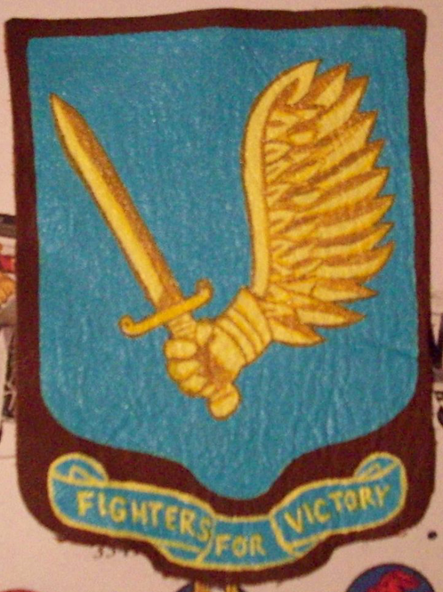 357th Fighter Group Turquoise Leather Patch