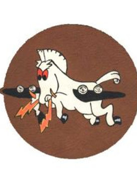 532nd Bomb Squadron Leather Patch