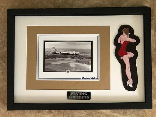 """B-17 """"Memphis Belle"""" Collector's Display (Belle107)"""