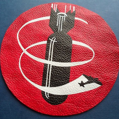 709th Bomb Squadron Leather Patch