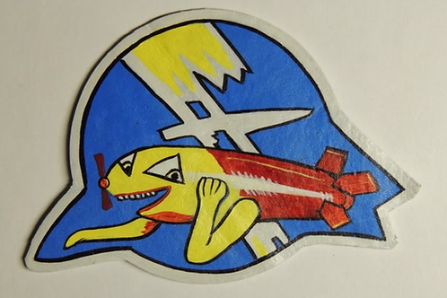 544th Bomb Squadron Leather Patch