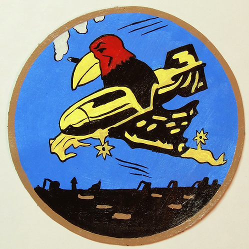 351st Bomb Squadron Leather Patch