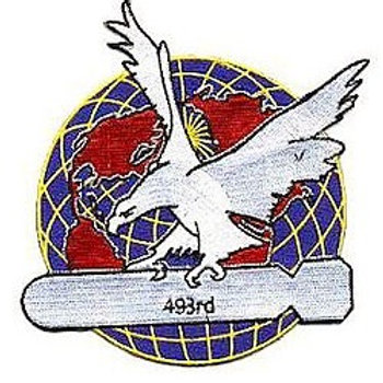 493rd Bomb Group Leather Patch