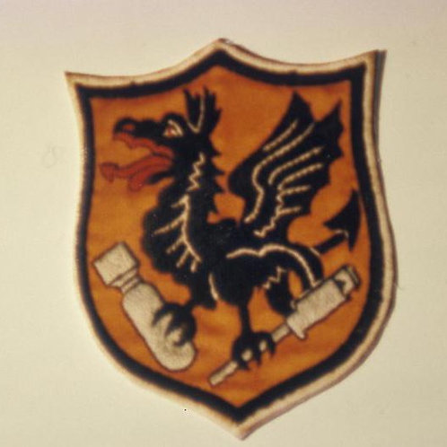 833rd Bomb Squadron Leather Patch