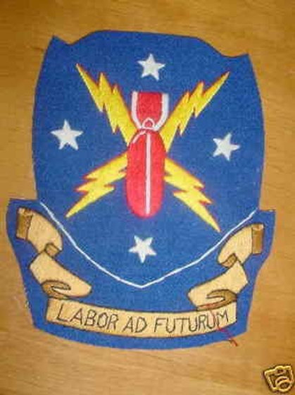 452nd Bomb Group Leather Patch