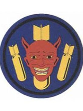 510th Bomb Squadron Leather Patch