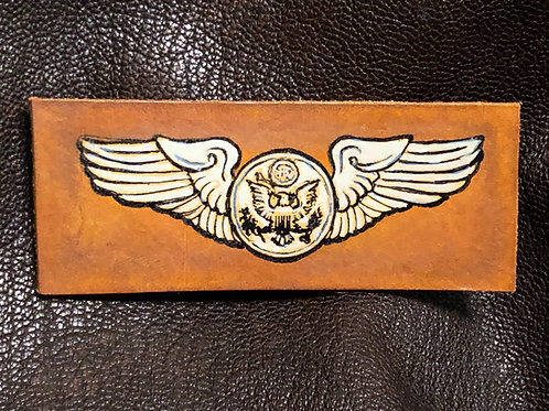 WWII Leather Aircrew Wings