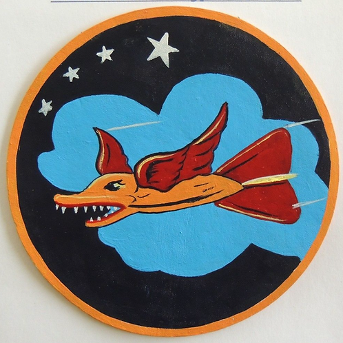 337th Bomb Squadron Leather Patch