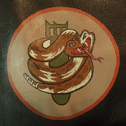 750th Bomb Squadron Leather Patch