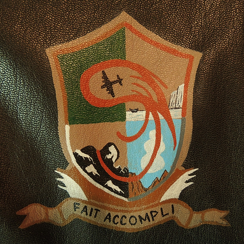 457th Bomb Group Leather Patch