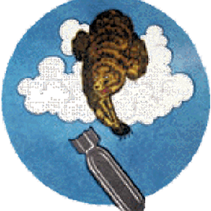569th Bomb Squadron Leather Patch