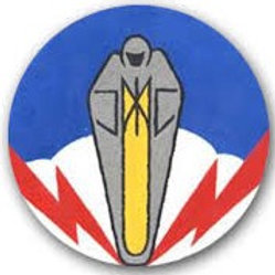 334th Bomb Squadron Leather Patch
