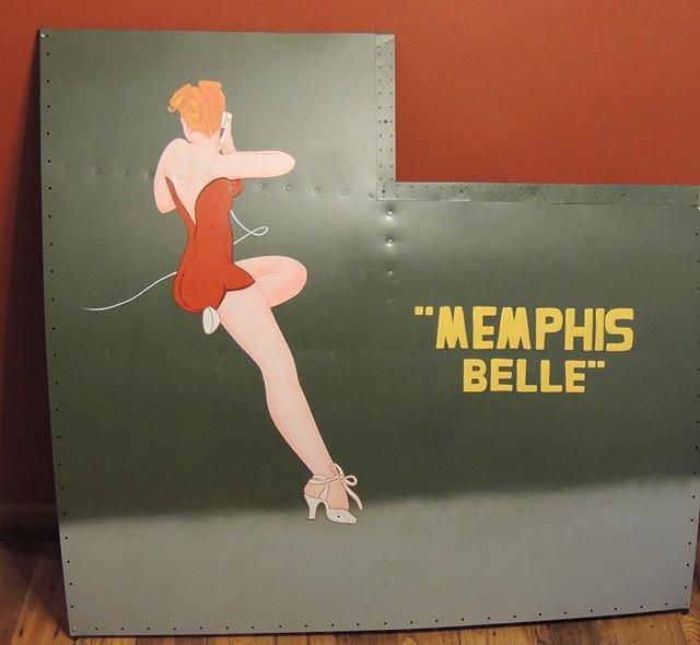 Memphis Bell nose art panel. I specializ
