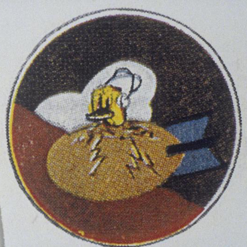 418th Bomb Squadron Leather Patch