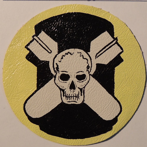 527th Bomb Squadron Leather Patch