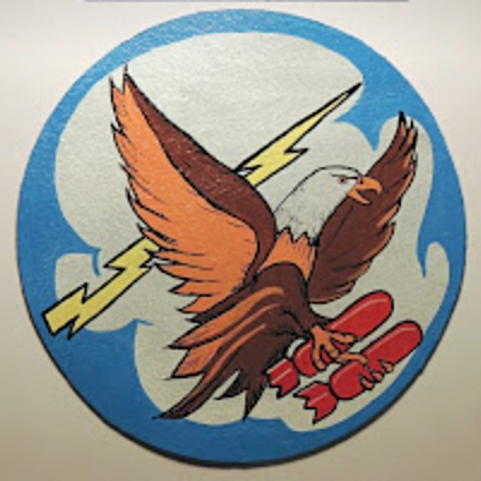 731st Bomb Squadron Leather Patch
