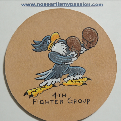 4th Fighter Group Eagle Squadron Leather Patch