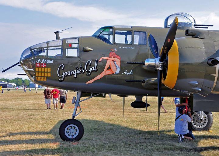 "Liberty Aviation Museum's B-25 ""Georgie's Gal"""