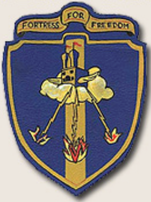388th Bomb Group Leather Patch