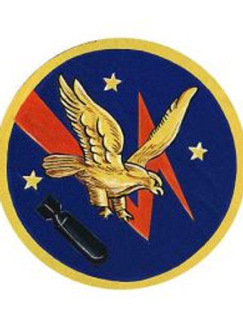 526th Bomb Squadron Leather Patch