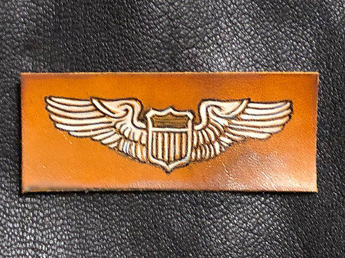 WWII Leather Pilot Wings
