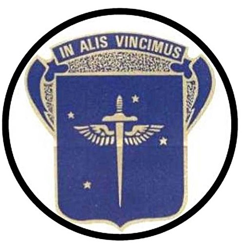 19th Bomb Group Leather Patch