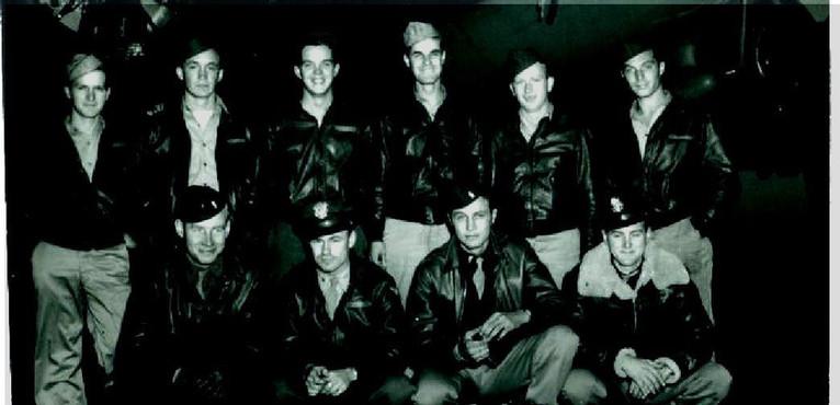 Jensen B-17 Crew, 1943.  385th BG, 548th BS