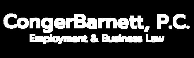 CongerBarnett, P.C. Employment & Business Law