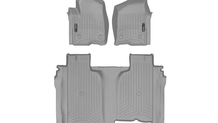 WeatherTech 19-20 Chevrolet Silverado 1500 FloorLiner 1st & 2nd Row w/o Storage